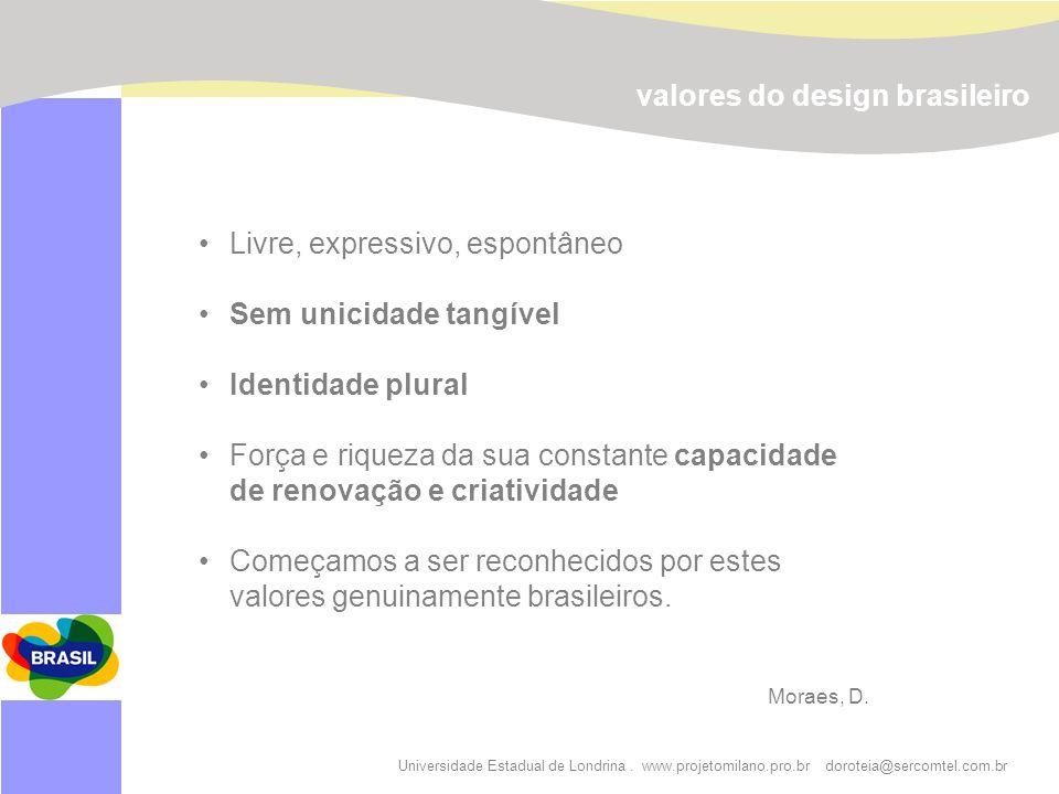valores do design brasileiro