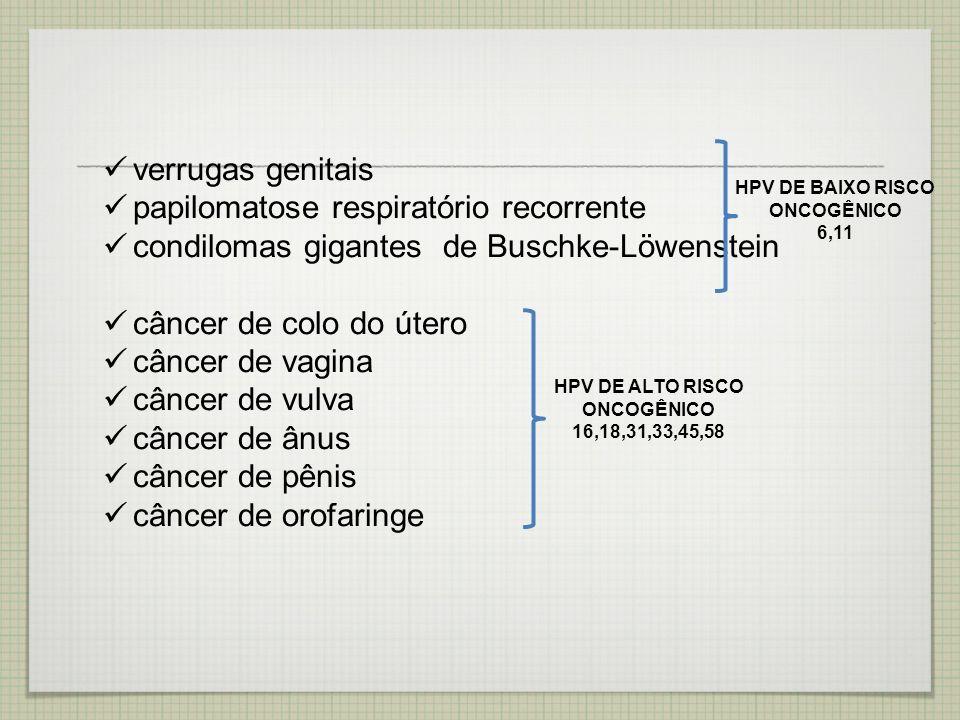papilomatose respiratório recorrente