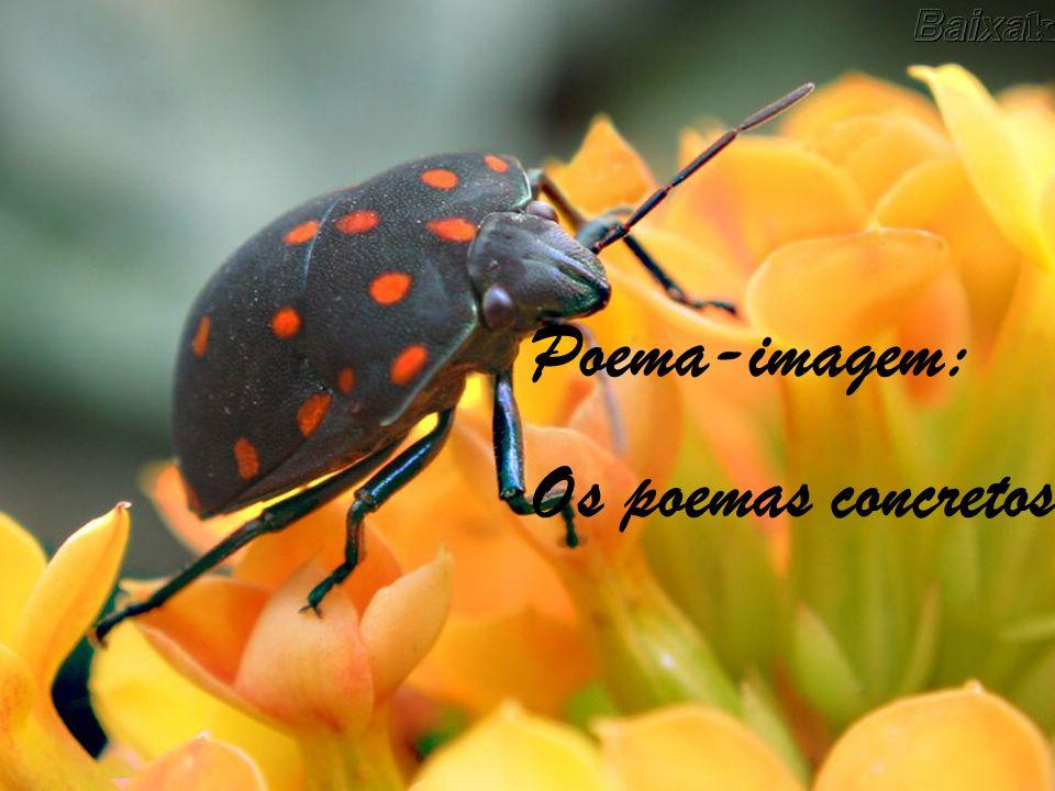 Poema-imagem: Os poemas concretos