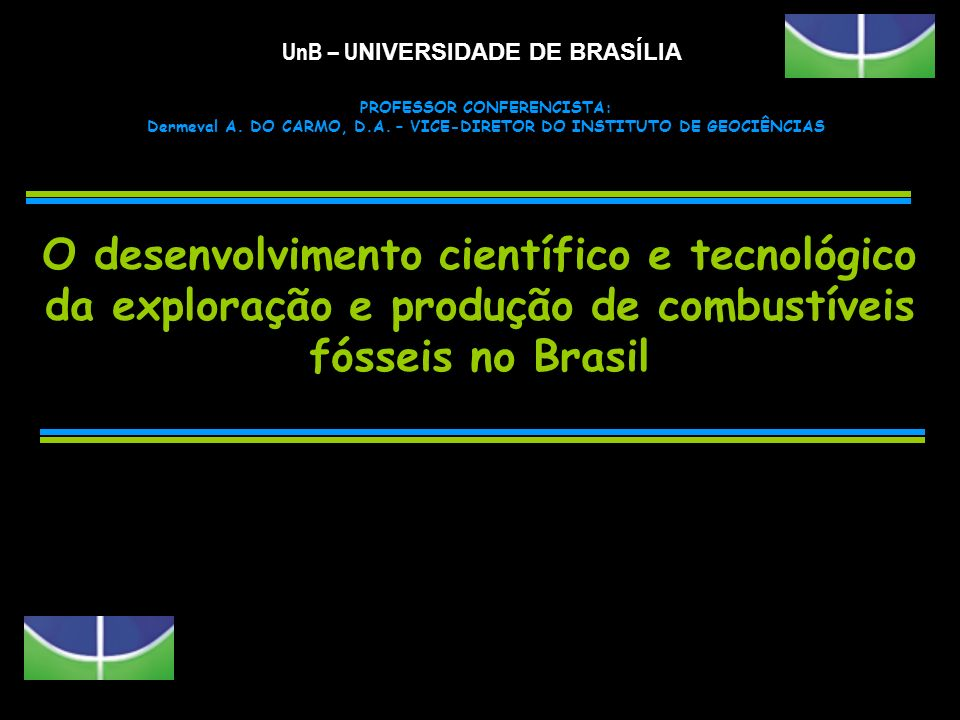 UnB – UNIVERSIDADE DE BRASÍLIA
