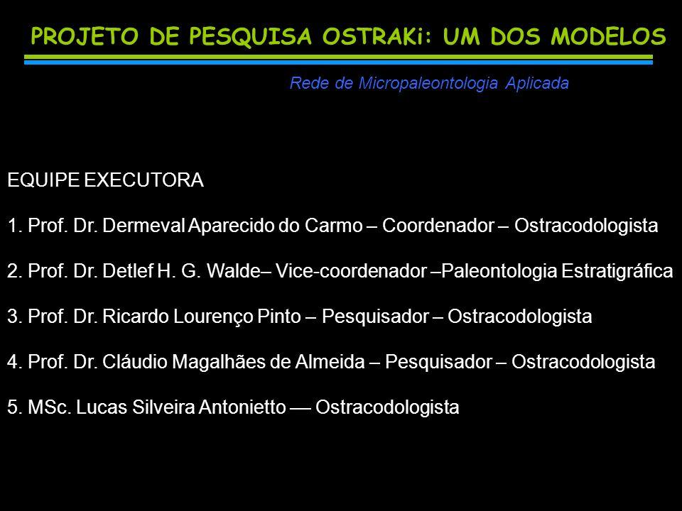 PROJETO DE PESQUISA OSTRAKi: UM DOS MODELOS