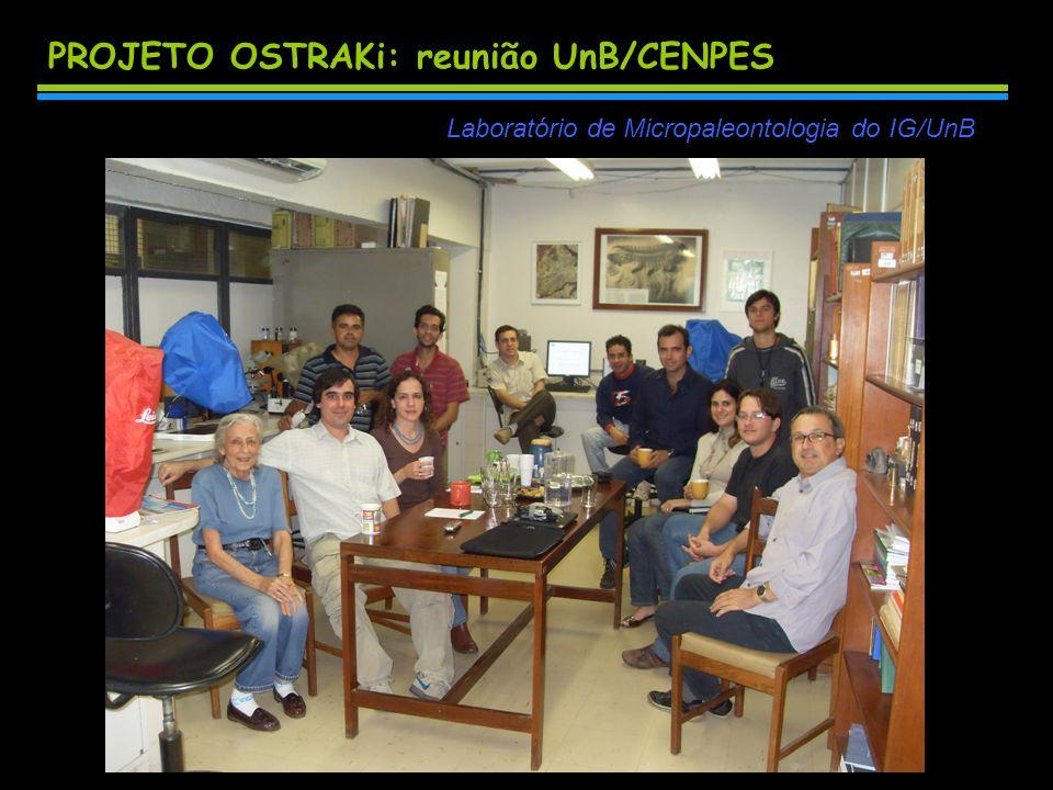 PROJETO OSTRAKi: reunião UnB/CENPES
