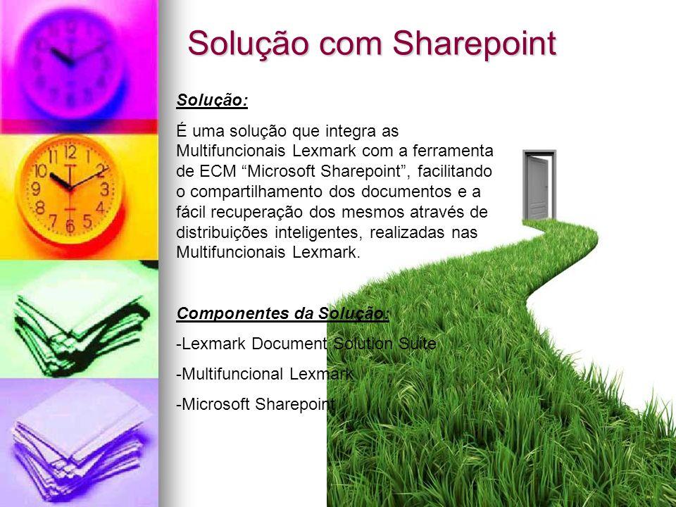 Solução com Sharepoint