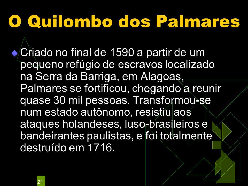 O Quilombo dos Palmares