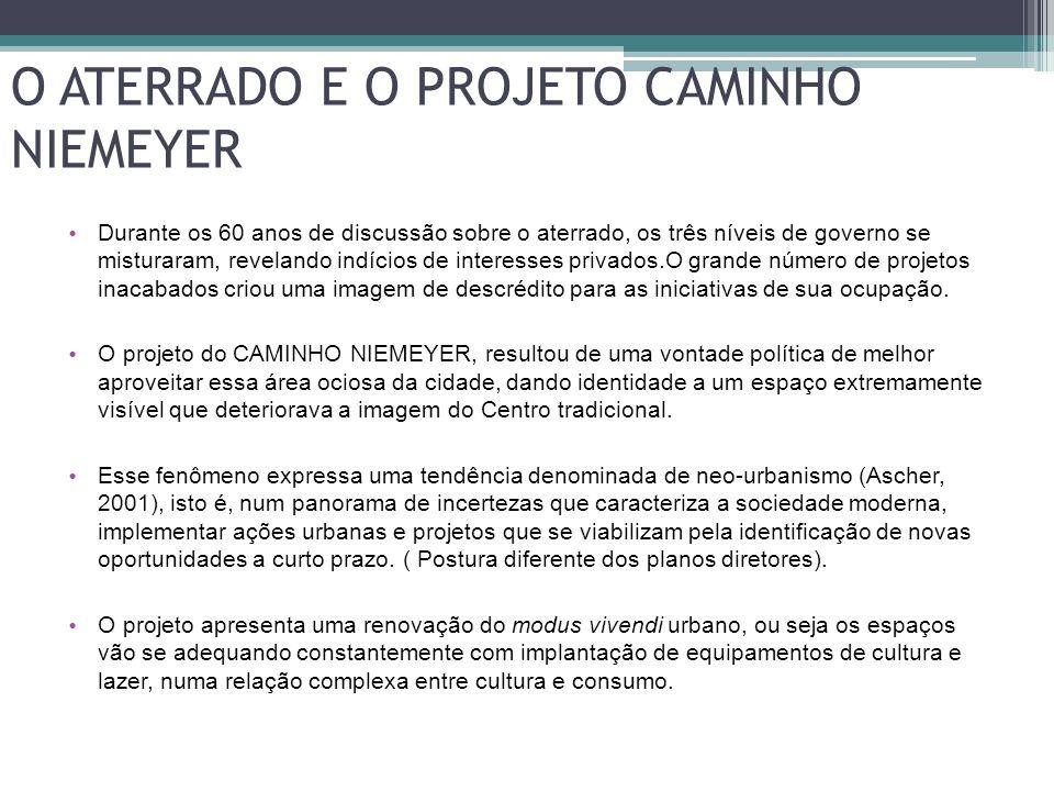 O ATERRADO E O PROJETO CAMINHO NIEMEYER