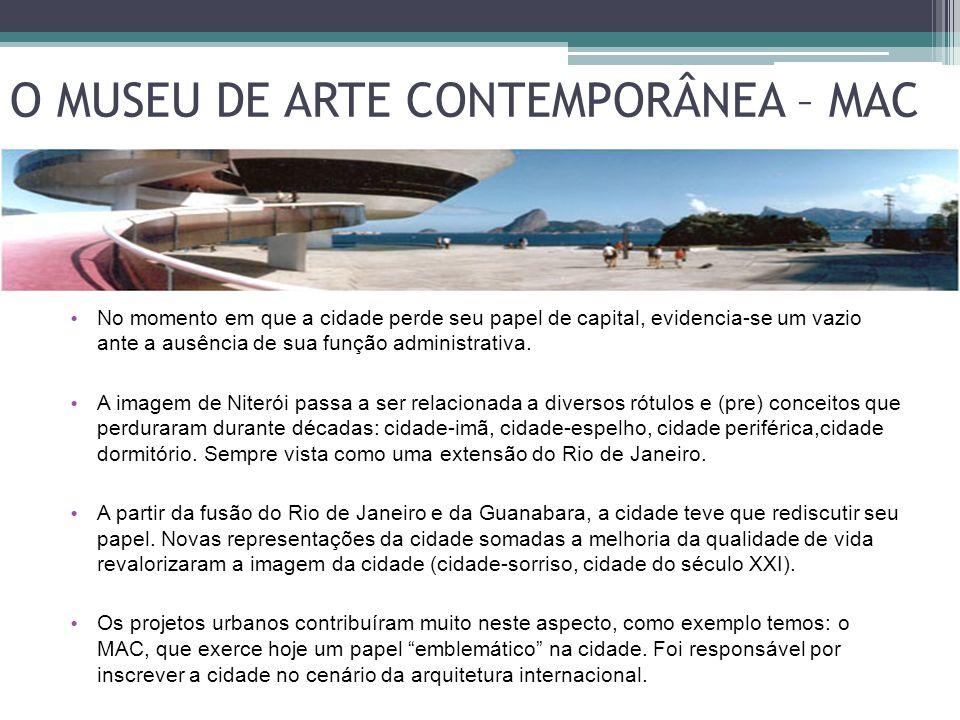 O MUSEU DE ARTE CONTEMPORÂNEA – MAC