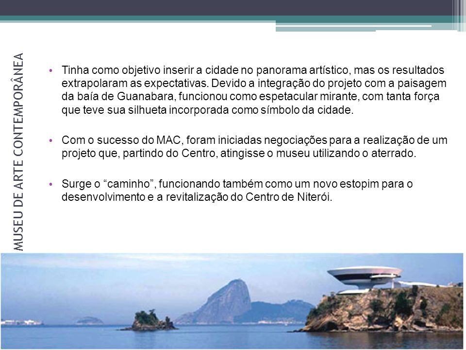 O MUSEU DE ARTE CONTEMPORÂNEA