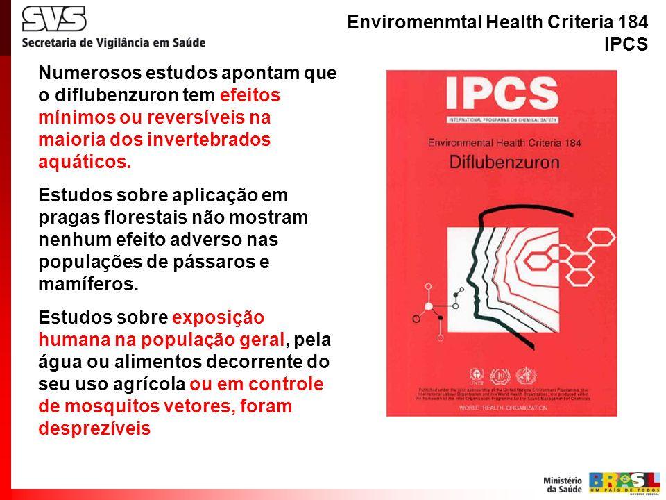 Enviromenmtal Health Criteria 184