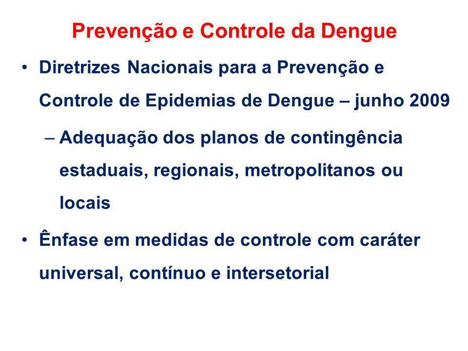 Prevenção e Controle da Dengue