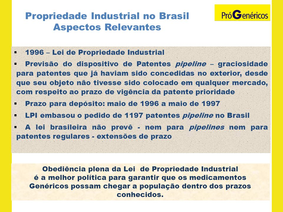 Propriedade Industrial no Brasil Aspectos Relevantes