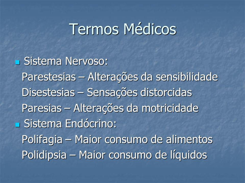 Termos Médicos Sistema Nervoso: