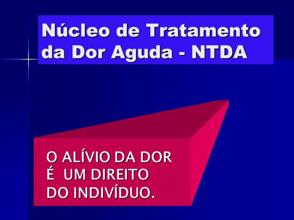 Núcleo de Tratamento da Dor Aguda - NTDA