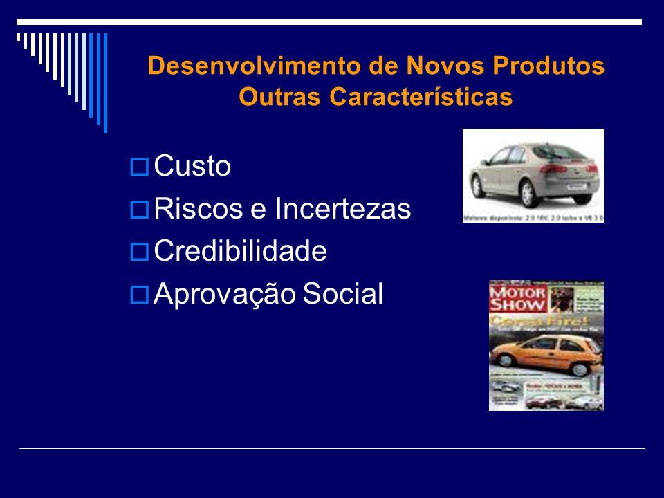 Desenvolvimento de Novos Produtos Outras Características