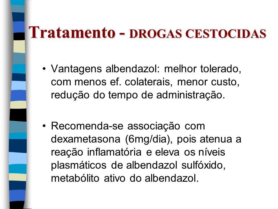 Tratamento - DROGAS CESTOCIDAS