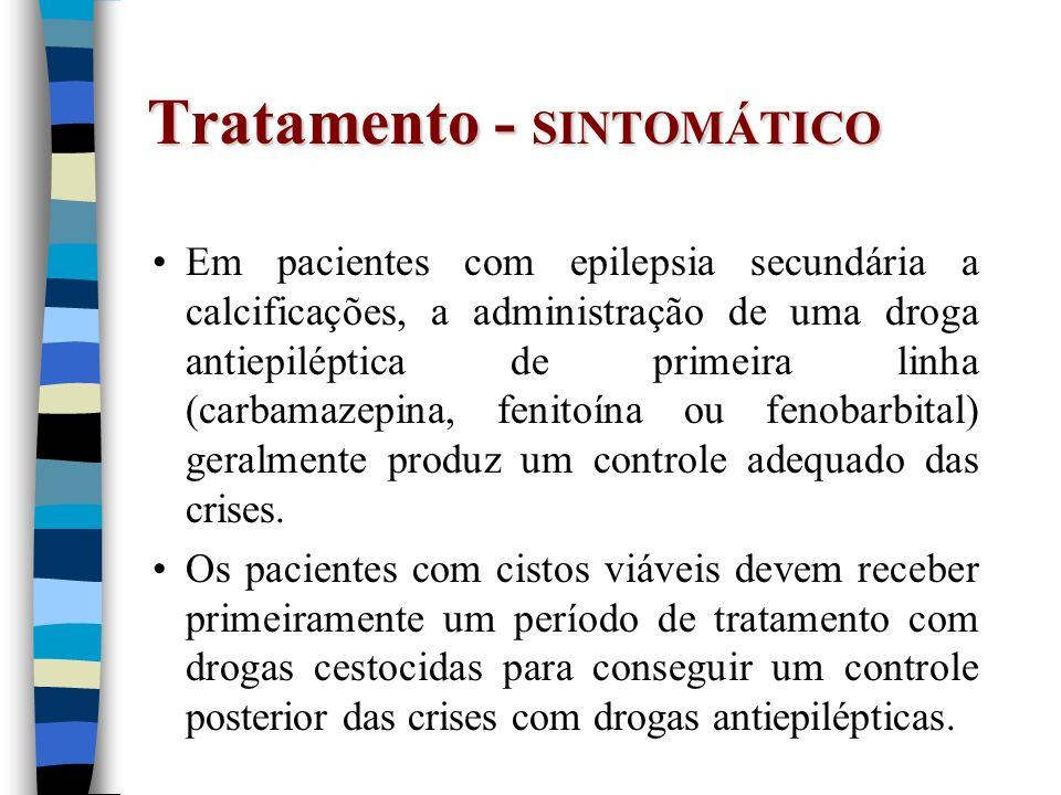 Tratamento - SINTOMÁTICO