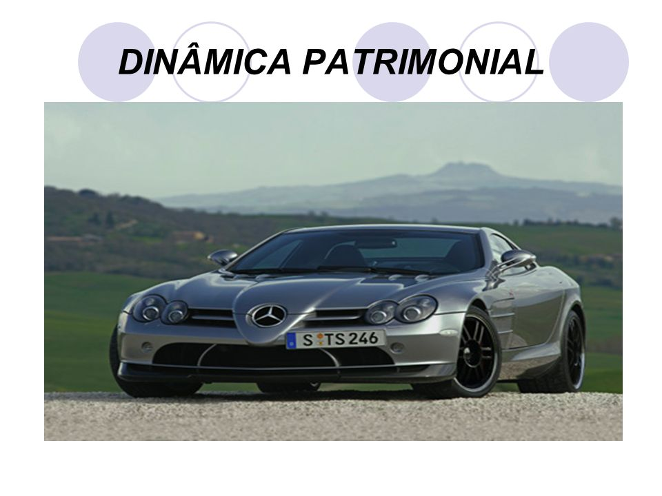 DINÂMICA PATRIMONIAL