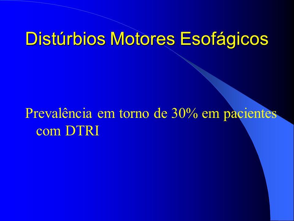 Distúrbios Motores Esofágicos
