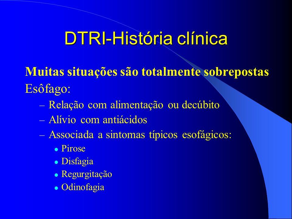 DTRI-História clínica