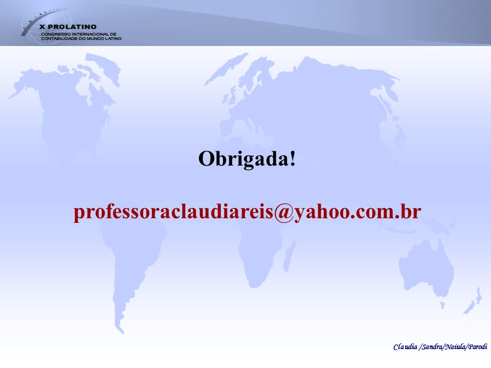 Obrigada! professoraclaudiareis@yahoo.com.br