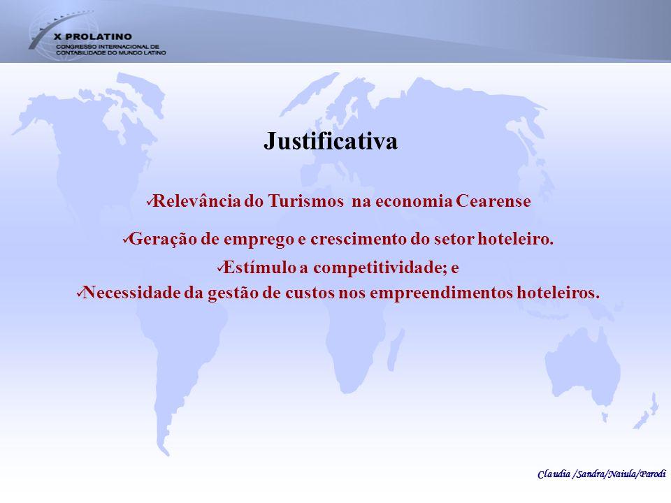 Justificativa Relevância do Turismos na economia Cearense