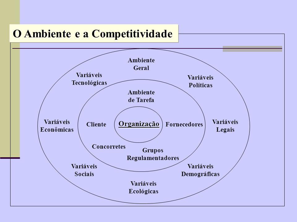 O Ambiente e a Competitividade