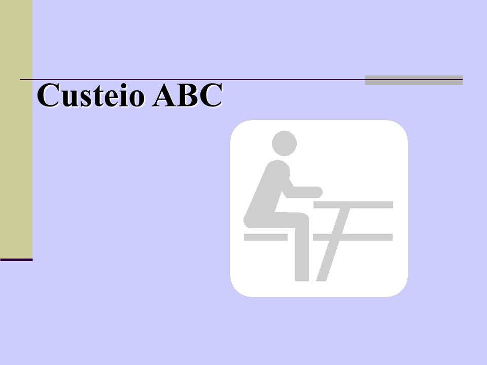 Custeio ABC