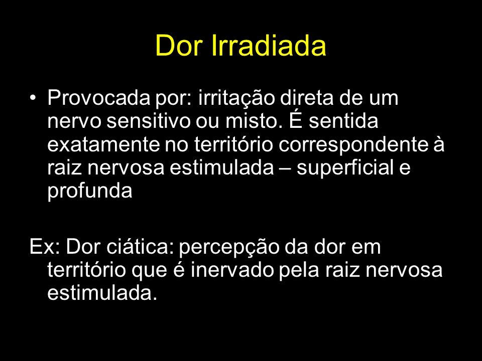Dor Irradiada