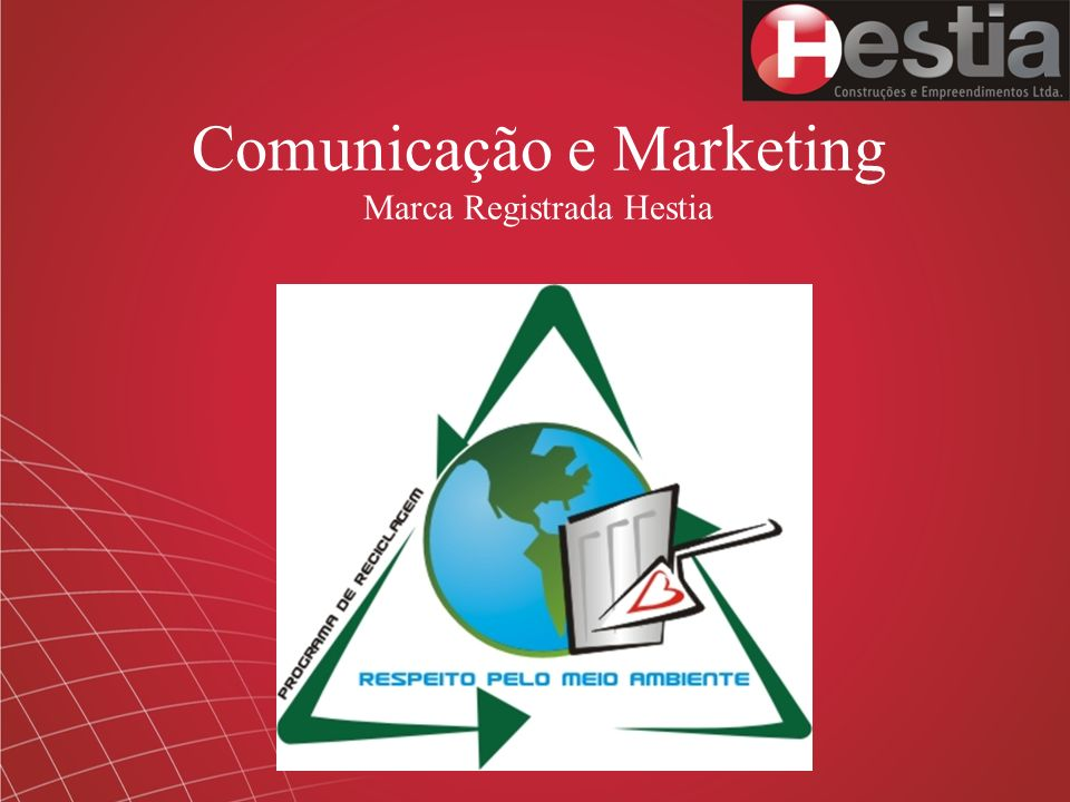 Comunicação e Marketing Marca Registrada Hestia