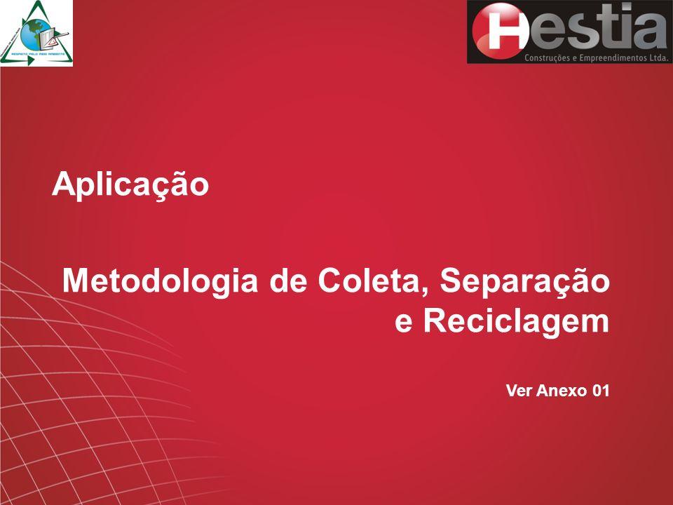 Metodologia de Coleta, Separação e Reciclagem
