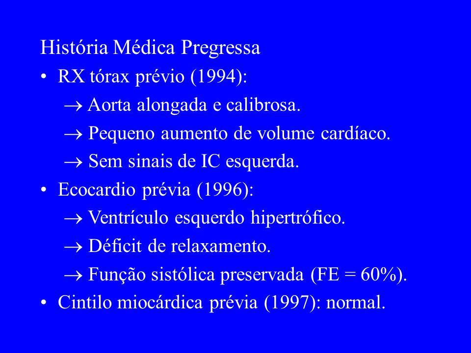 História Médica Pregressa