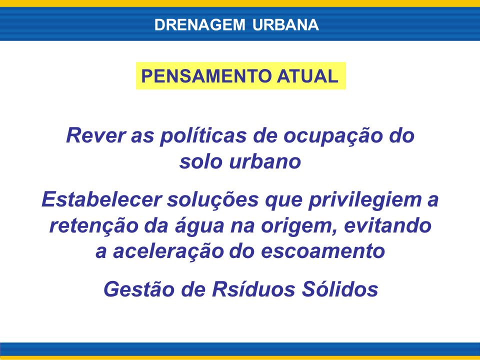Rever as políticas de ocupação do solo urbano