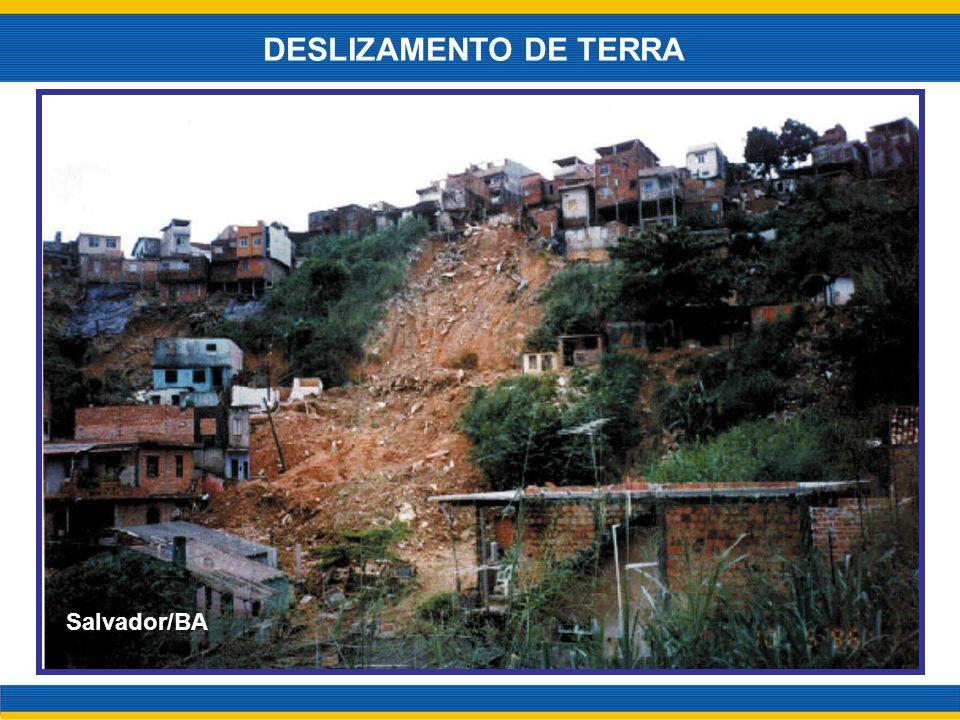 DESLIZAMENTO DE TERRA Salvador/BA