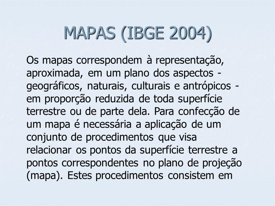 MAPAS (IBGE 2004)