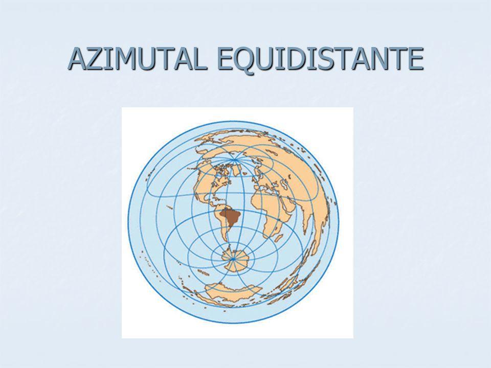 AZIMUTAL EQUIDISTANTE