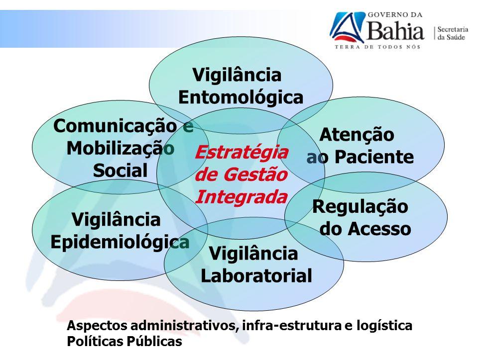 Vigilância Entomológica Comunicação e Atenção Mobilização ao Paciente