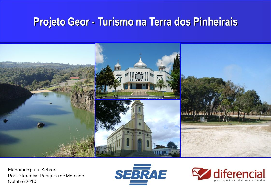 Projeto Geor - Turismo na Terra dos Pinheirais