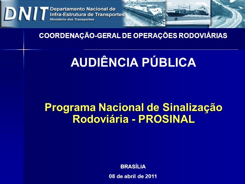 COORDENAÇÃO-GERAL DE OPERAÇÕES RODOVIÁRIAS