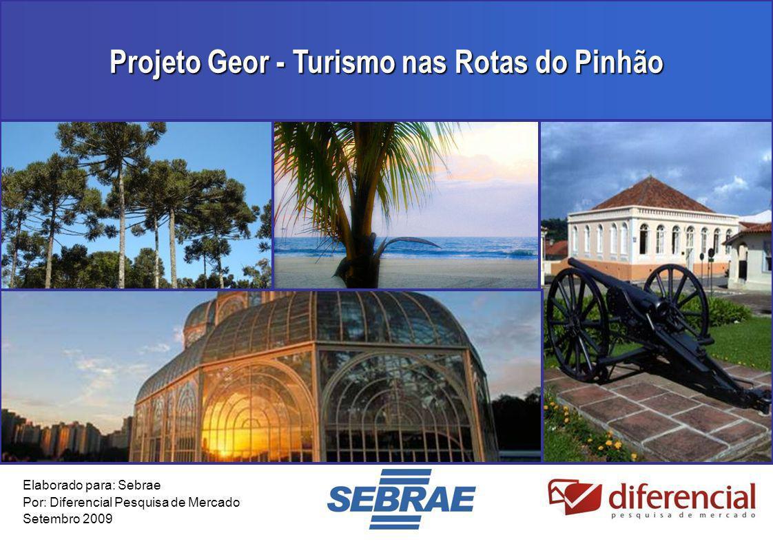 Projeto Geor - Turismo nas Rotas do Pinhão