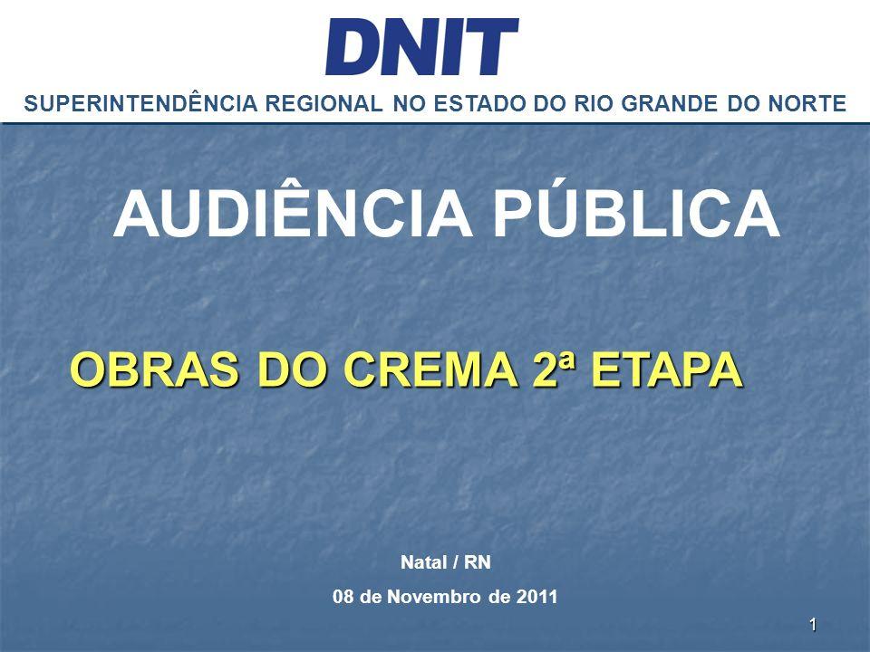 SUPERINTENDÊNCIA REGIONAL NO ESTADO DO RIO GRANDE DO NORTE