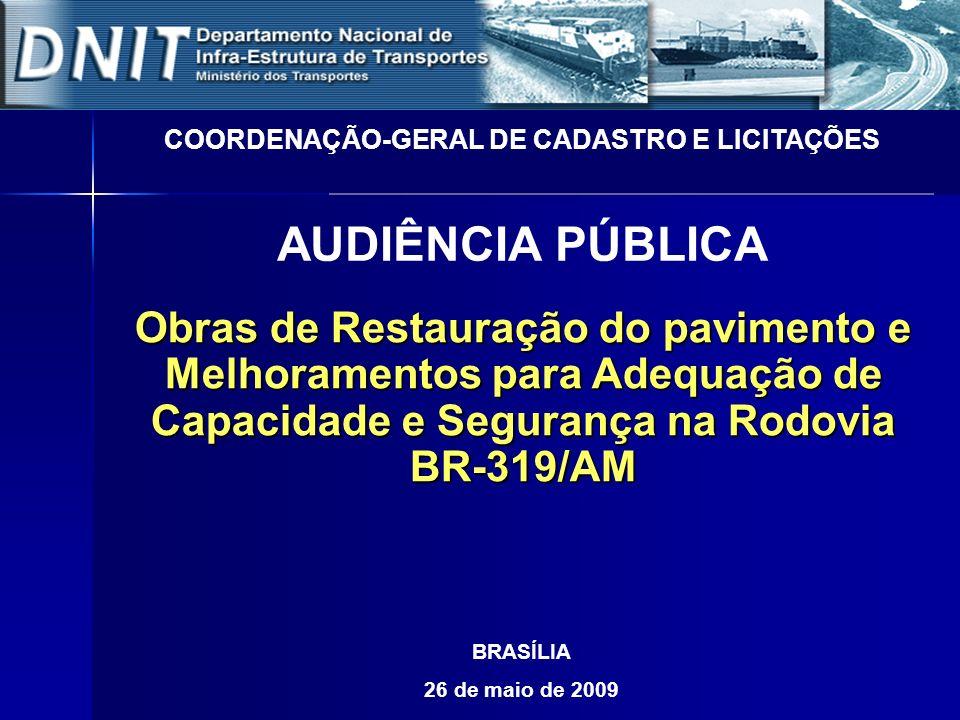 COORDENAÇÃO-GERAL DE CADASTRO E LICITAÇÕES