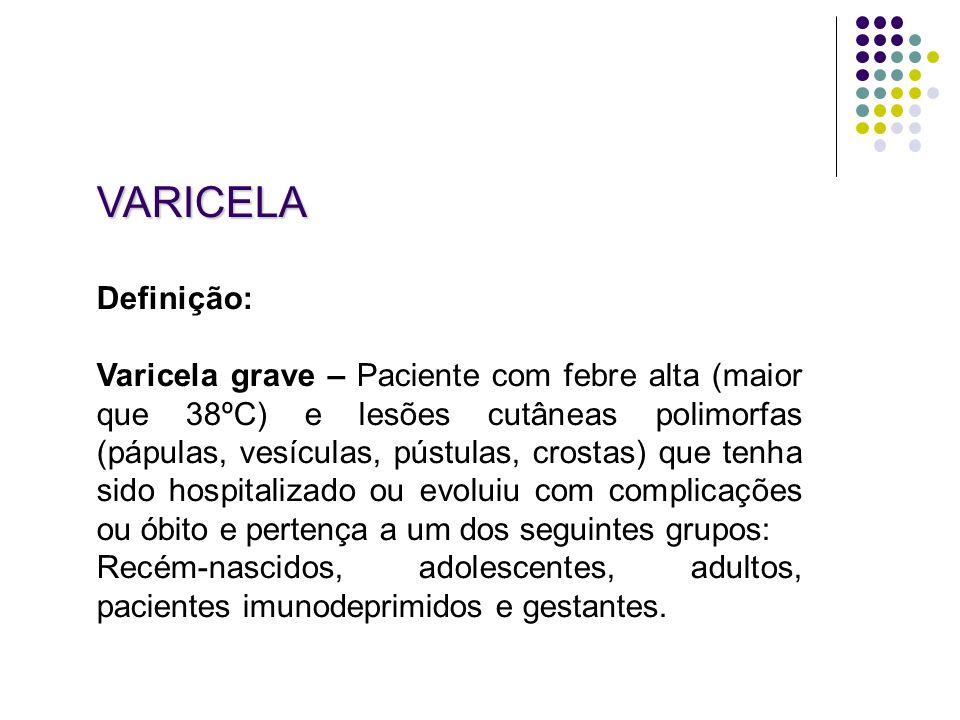 VARICELA Definição: