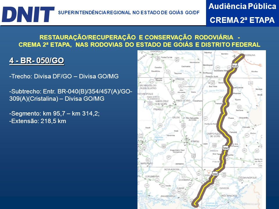 Audiência Pública CREMA 2ª ETAPA