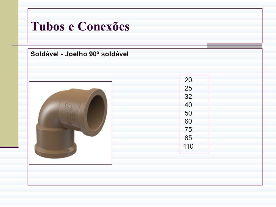 Tubos e Conexões Soldável - Joelho 90º soldável 20 25 32 40 50 60 75