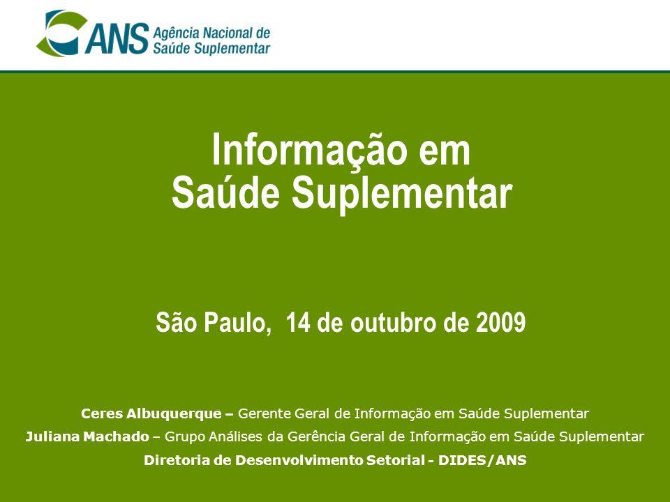 Informação em Saúde Suplementar