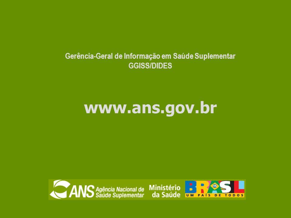 Gerência-Geral de Informação em Saúde Suplementar