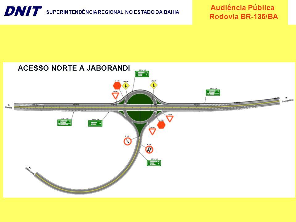 ACESSO NORTE A JABORANDI