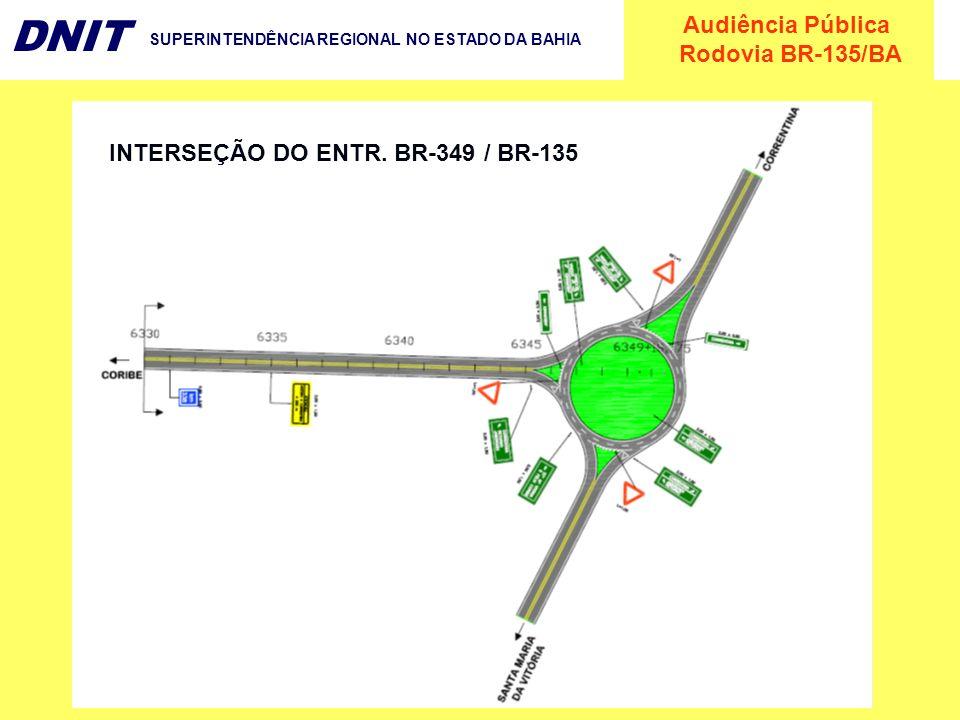 INTERSEÇÃO DO ENTR. BR-349 / BR-135