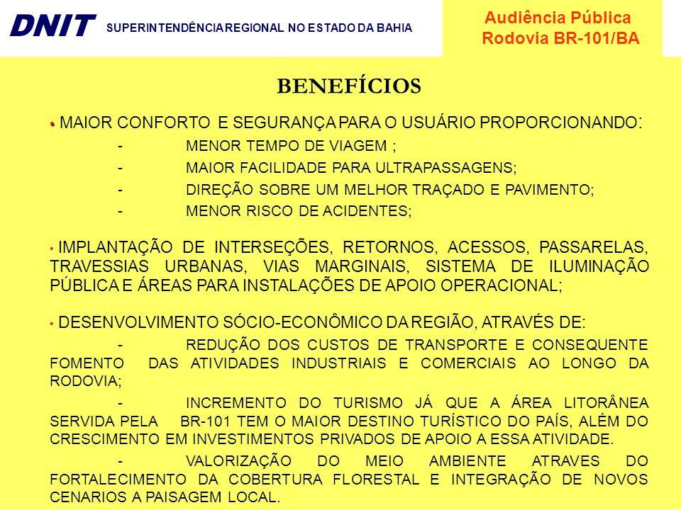BENEFÍCIOS MAIOR CONFORTO E SEGURANÇA PARA O USUÁRIO PROPORCIONANDO: