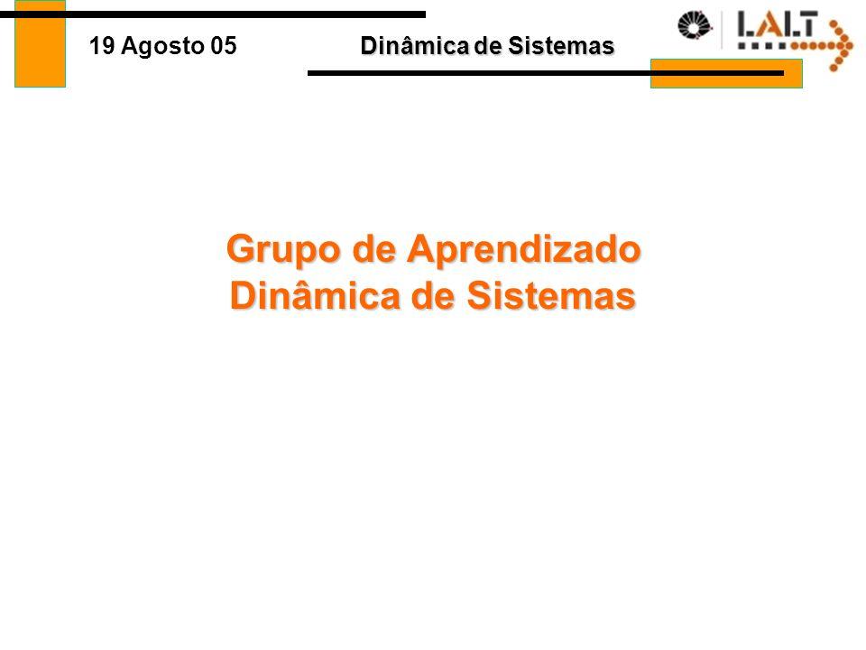 Grupo de Aprendizado Dinâmica de Sistemas