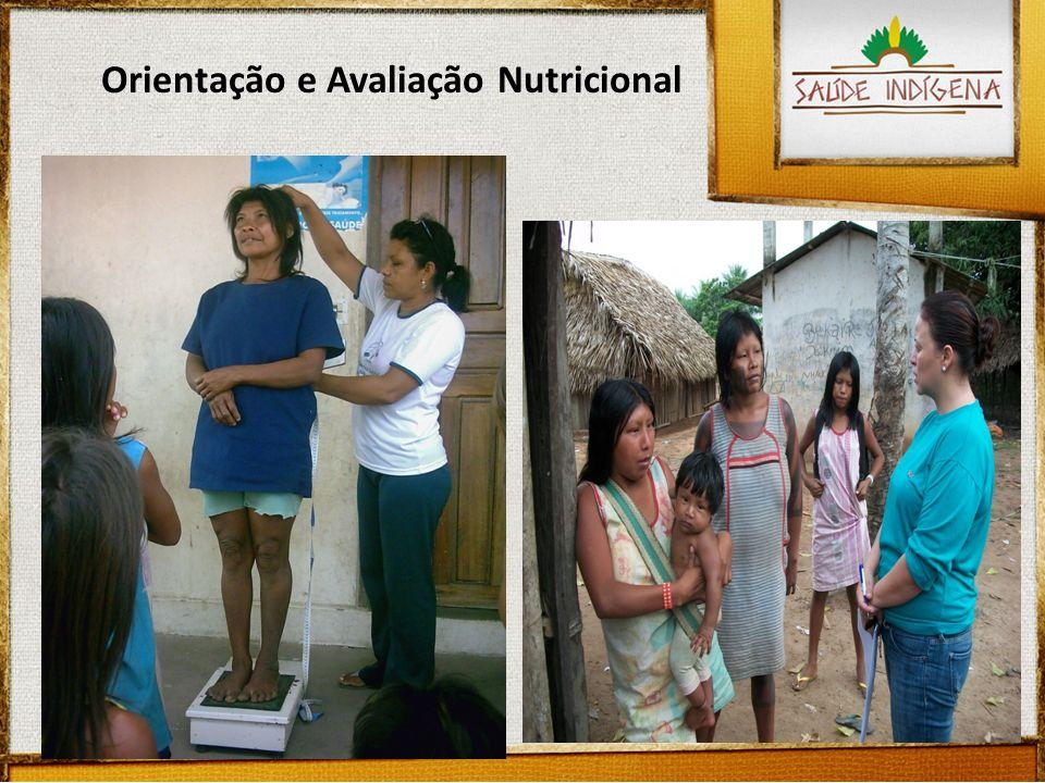 Orientação e Avaliação Nutricional